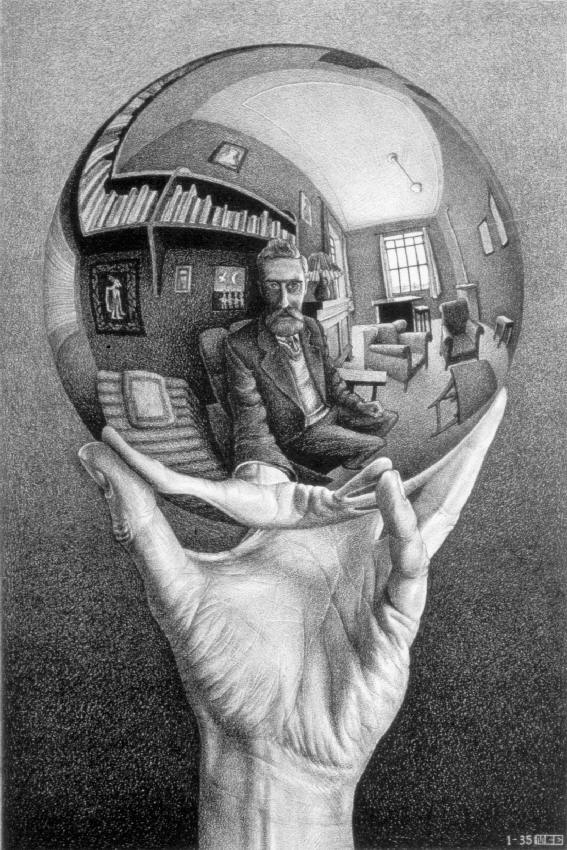 M.C. Escher - Self Portrait